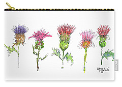 What Is It About A Thistle Carry-all Pouch