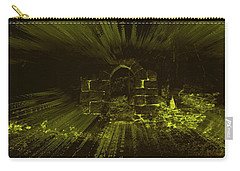 Carry-all Pouch featuring the photograph What Lies Beyond by Keith Elliott