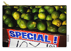 Carry-all Pouch featuring the photograph What Lime Shortage? #dontbelievethehype by Mr Photojimsf