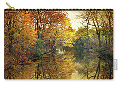 Carry-all Pouch featuring the photograph What Remains by Jessica Jenney