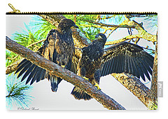 Carry-all Pouch featuring the photograph What Shall I Say by Deborah Benoit