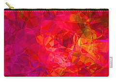 Carry-all Pouch featuring the digital art What The Heart Wants by Wendy J St Christopher