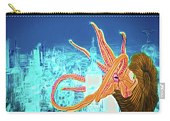 Carry-all Pouch featuring the drawing What Will You Have by John Haldane