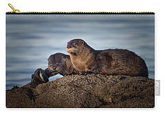 Carry-all Pouch featuring the photograph Whats For Dinner by Randy Hall