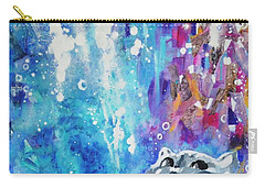 What's Up? Carry-all Pouch by Betty M M Wong