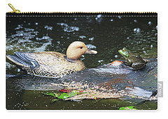 What's Up Duck? Carry-all Pouch by Trina Ansel
