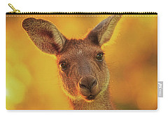 Carry-all Pouch featuring the photograph What's Up, Yanchep National Park by Dave Catley