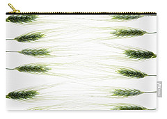Carry-all Pouch featuring the photograph Wheat 2 by Rebecca Cozart