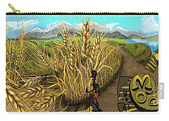 Wheat Field Day Dreaming Carry-all Pouch