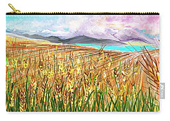 Wheat Landscape Carry-all Pouch