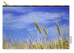 Wheat Trio Carry-all Pouch by Keith Armstrong