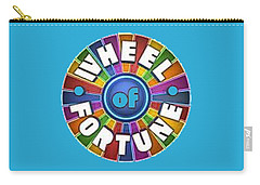 Wheel Of Fortune T-shirt Carry-all Pouch