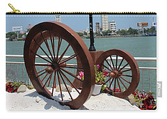 Wheels By The Water Carry-all Pouch