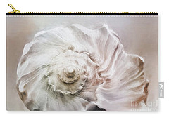 Carry-all Pouch featuring the photograph Whelk Shell by Benanne Stiens