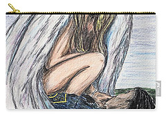 When Angels Cry Carry-all Pouch
