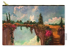 When Angels Garden In Heaven Carry-all Pouch