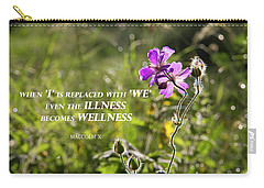 When 'i' Replaced With 'we' Carry-all Pouch