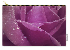 Carry-all Pouch featuring the photograph When It Rained by The Art Of Marilyn Ridoutt-Greene