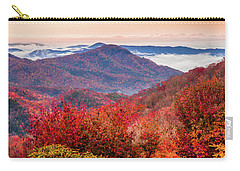 Carry-all Pouch featuring the photograph When Mountains Sing by Karen Wiles