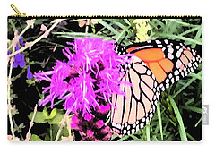 When Nature Calls Carry-all Pouch by Beth Saffer