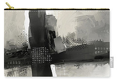 Carry-all Pouch featuring the mixed media When Paths Cross by Eduardo Tavares