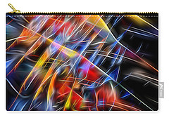 Carry-all Pouch featuring the digital art When Prayer And Worship Embrace by Margie Chapman