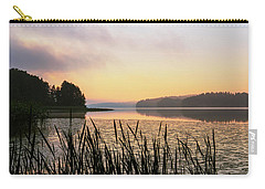 When The Day Is Dawning At The Lake Enajarvi Carry-all Pouch