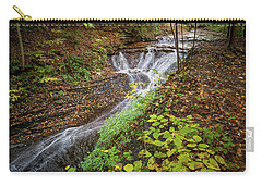 Carry-all Pouch featuring the photograph When The Leaves Fall by Dale Kincaid