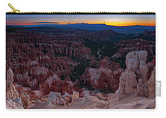 Carry-all Pouch featuring the photograph When The Light Was Born by Edgars Erglis