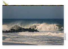 When The Ocean Speaks - Jersey Shore Carry-all Pouch
