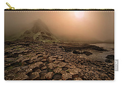 Sunset At Giant's Causeway Carry-all Pouch