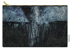 When The Tornado Hit The Bridge Carry-all Pouch
