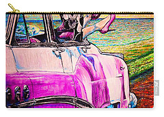 Carry-all Pouch featuring the painting When We Were Young by Viktor Lazarev