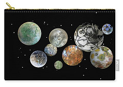When Worlds Collide Carry-all Pouch by Tony Murray