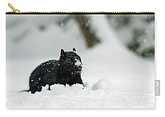 Carry-all Pouch featuring the photograph Where Did The Food Go - 365-281 by Inge Riis McDonald