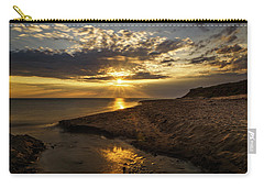 Carry-all Pouch featuring the photograph Where Freshwater Joins Saltwater by Chris Bordeleau