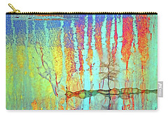 Carry-all Pouch featuring the photograph Where Have All The Trees Gone? by Tara Turner