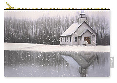 Where Hope Grows - Hope Valley Art Carry-all Pouch by Jordan Blackstone