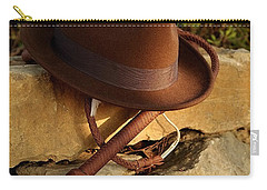 Where Is Indiana? Carry-all Pouch by Angelo DeVal