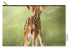 Carry-all Pouch featuring the painting Where Is My Mom? by Veronica Minozzi