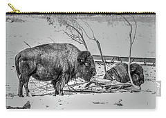 Where The Buffalo Rest Carry-all Pouch