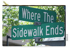 Where The Sidewalk Ends Carry-all Pouch