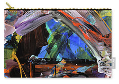 Where The Smiles Roam Abstract  Carry-all Pouch