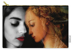 Carry-all Pouch featuring the digital art Where The Wild Roses Grow  by Paul Lovering