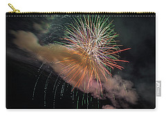 Carry-all Pouch featuring the photograph Where There's Smoke by Bill Pevlor