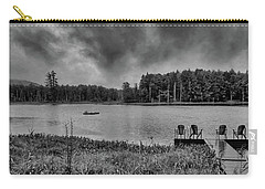Carry-all Pouch featuring the photograph Where To View Twin Ponds by David Patterson