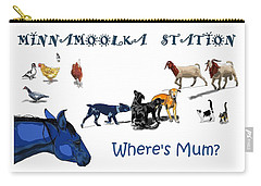 Where's Mum Carry-all Pouch
