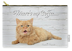 Where's My Coffee? Carry-all Pouch