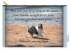 Wherever You May Roam Carry-all Pouch