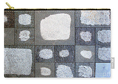 While We Were Having Lunch It Rained Carry-all Pouch by Ethna Gillespie
